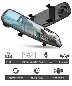 دوربین اتومبیل آینه ای