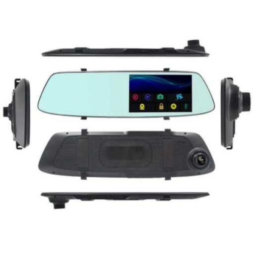دوربین خودرو آینه ای لمسی مانیتور دار