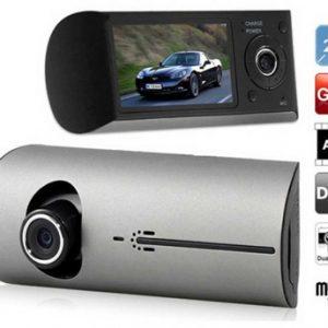 دوربین خودرو جی پی اس دار دو لنز Full HD