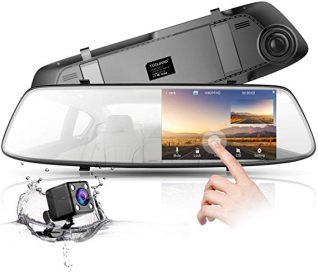 دوربین خودرو آینه ای لمسی