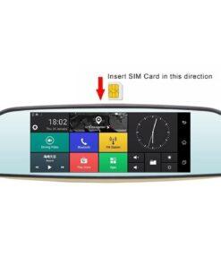 آینه هوشمند و ردیاب آنلاین خودرو مدل X11-Plus