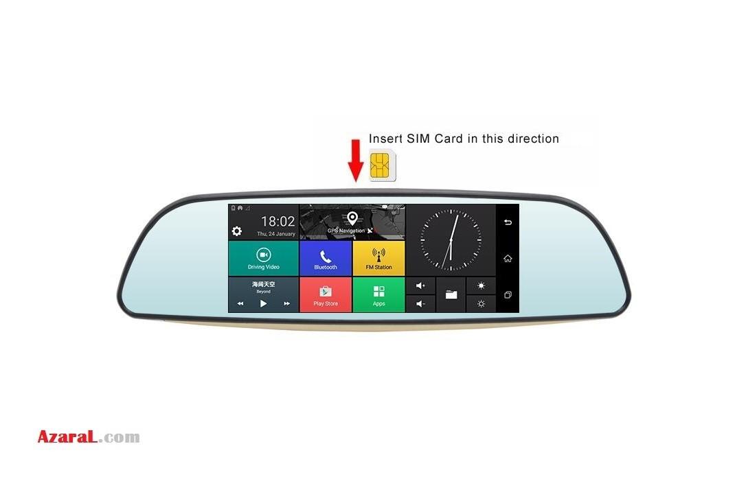 هوشمند و ردیاب آنلاین خودرو مدل X11 Plus