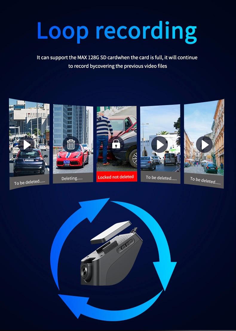 دوربین خودرو سیم کارت خور 4G ضبط چرخشی